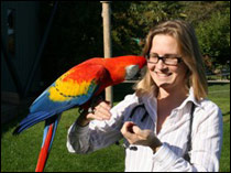 Sharon Redrobe will share her time between the University of Nottingham and Twycross zoo