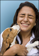 84% of women between the ages of 25 and 34 go to their pet for companionship
