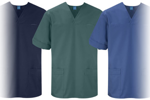 The new SS3295 unisex scrub tunic from Grahame Gardner.
