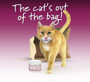 Easeflex: The cat's out of the bag!