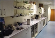 An example of David Bailey's veterinary surgery furniture