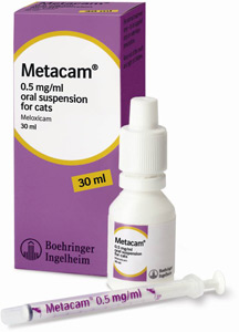 New Metacam 30ml bottle.