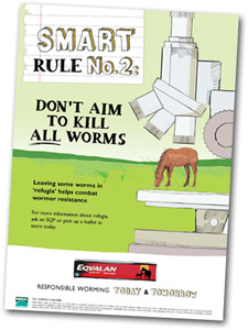 Merial's SMART Rule No.2: Don't aim to kill all worms