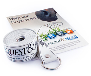 FREE weigh tape for all Equest customers